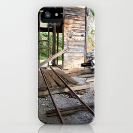 Exploring the Longfellow Mine of the Gold Rush - A Series, No. 8 of 9 iPhone Case