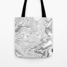 Gray Marble paper Tote Bag