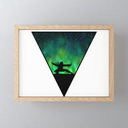 Ninja v3 Framed Mini Art Print