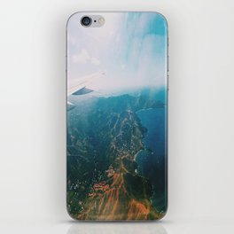 Flying Over Costa Rica iPhone Skin