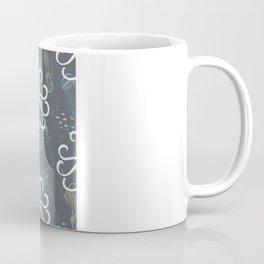 Ghostly Squid Damask Coffee Mug