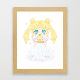 Serenity Pixel Doll Framed Art Print