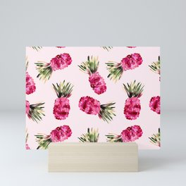 Pink Pineapples Mini Art Print
