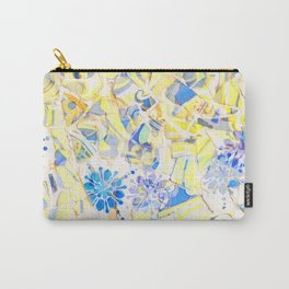 Mosaic of Barcelona III Carry-All Pouch