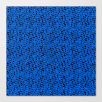 polka dots Canvas Prints featuring Polka dots by Cherie DeBevoise