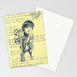 I Walk alone  Stationery Cards