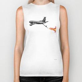 KC-135 Flames Biker Tank