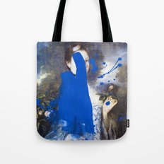 Blue Bomb Tote Bag