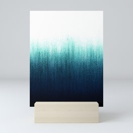 Teal Ombré Mini Art Print