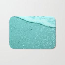 Sparkling Aqua Beach Bath Mat