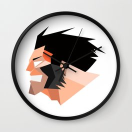 logan x men Wall Clock