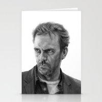 house md Stationery Cards featuring House by robo3687