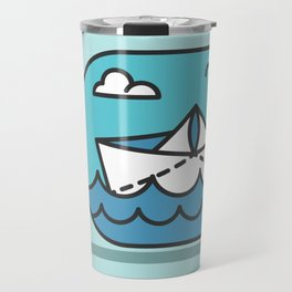 Little boat Travel Mug