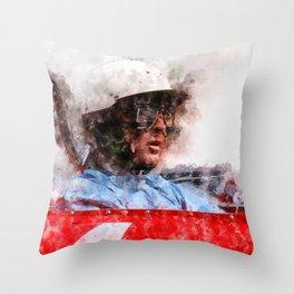 Phil Hill Close Throw Pillow