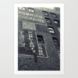 Hobbies Magazine Building Art Print