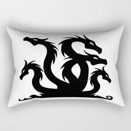 Hydra Silhouette Rectangular Pillow
