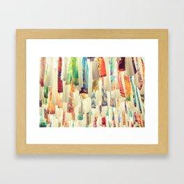 Material Ceiling   Framed Art Print