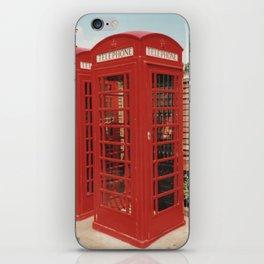 London Telephone Box iPhone Skin
