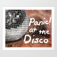 panic at the disco Art Prints featuring Panic! At The Disco by Stephanie Janeczek