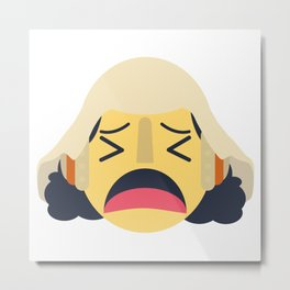 Usopp Emoji Design Metal Print