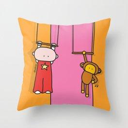 Circus XL Throw Pillow