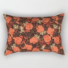 Art nouveau florals Rectangular Pillow