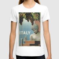 italy T-shirts featuring ITALY by Kathead Tarot/David Rivera
