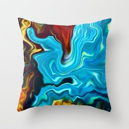 Silk Throw Pillow