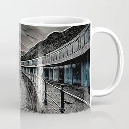 Meadfoot Beach Huts - Digital Coffee Mug