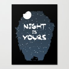 Night Is Yours Canvas Print