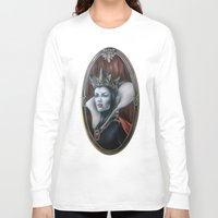 evil queen Long Sleeve T-shirts featuring Evil Queen by Yehsiming Jue
