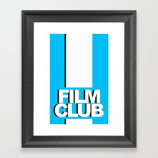 Film Club Framed Art Print