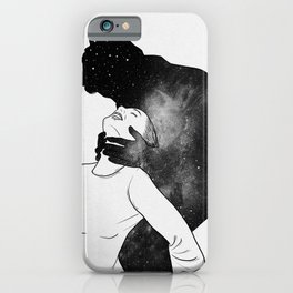 Deep heartbeat. iPhone Case