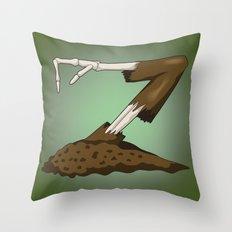 Alphabet Z Throw Pillow