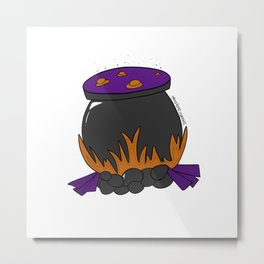 Witch's Stew Metal Print