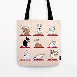 Bull Terrier Yoga Tote Bag