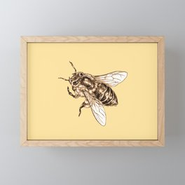 Bee Framed Mini Art Print