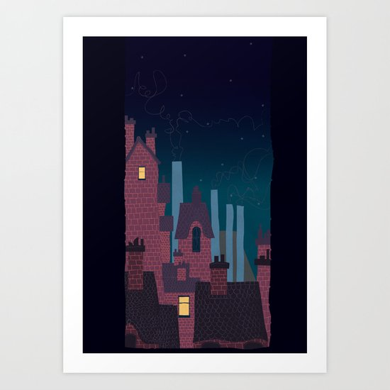 Trackless Jungle Art Print