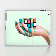 MELTING RUBIKS CUBE Laptop & iPad Skin