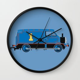 Tommy the Van Engine Wall Clock