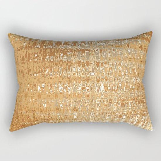 Golden Ball Rectangular Pillow