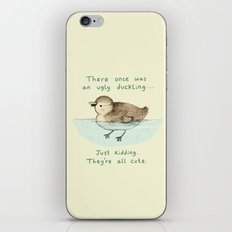 Ugly Duckling iPhone & iPod Skin
