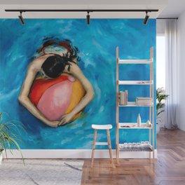 Float I Wall Mural