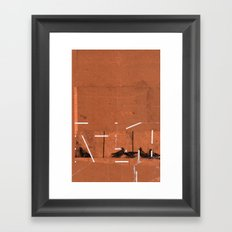 TIME OUT 39 Framed Art Print
