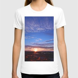 Sunset and Blue Sky T-shirt
