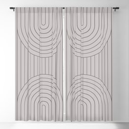 Arch Symmetry II Blackout Curtain