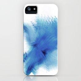 Royal Blue Blur iPhone Case