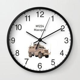 M1224 MRAP Army Military Truck Wall Clock