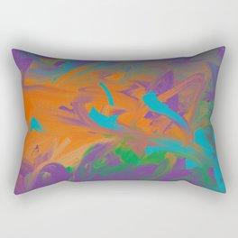 Baby Graffiti Rectangular Pillow