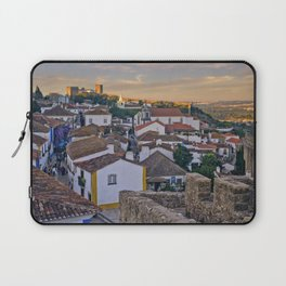 Obidos in the evening Laptop Sleeve